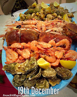 french village diaries advent calendar a to z of french food seafood platter