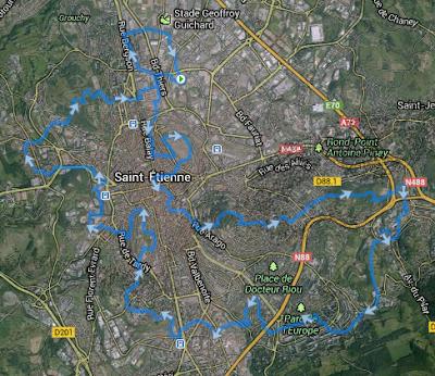 Trail Urbain de Saint-Etienne