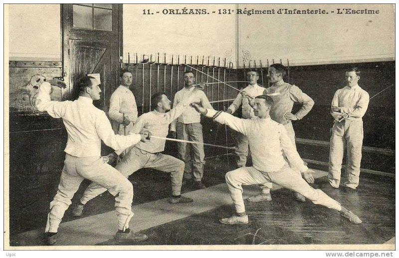 Классическое фехтование. Франция, Орлеан.