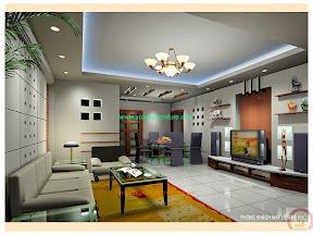 Mẫu thiết kế nội thất nhà phố 01
