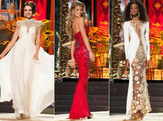 Vestidos Miss Universo 2013
