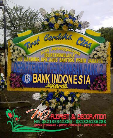 turut berdukacita dari Bank Indonesia