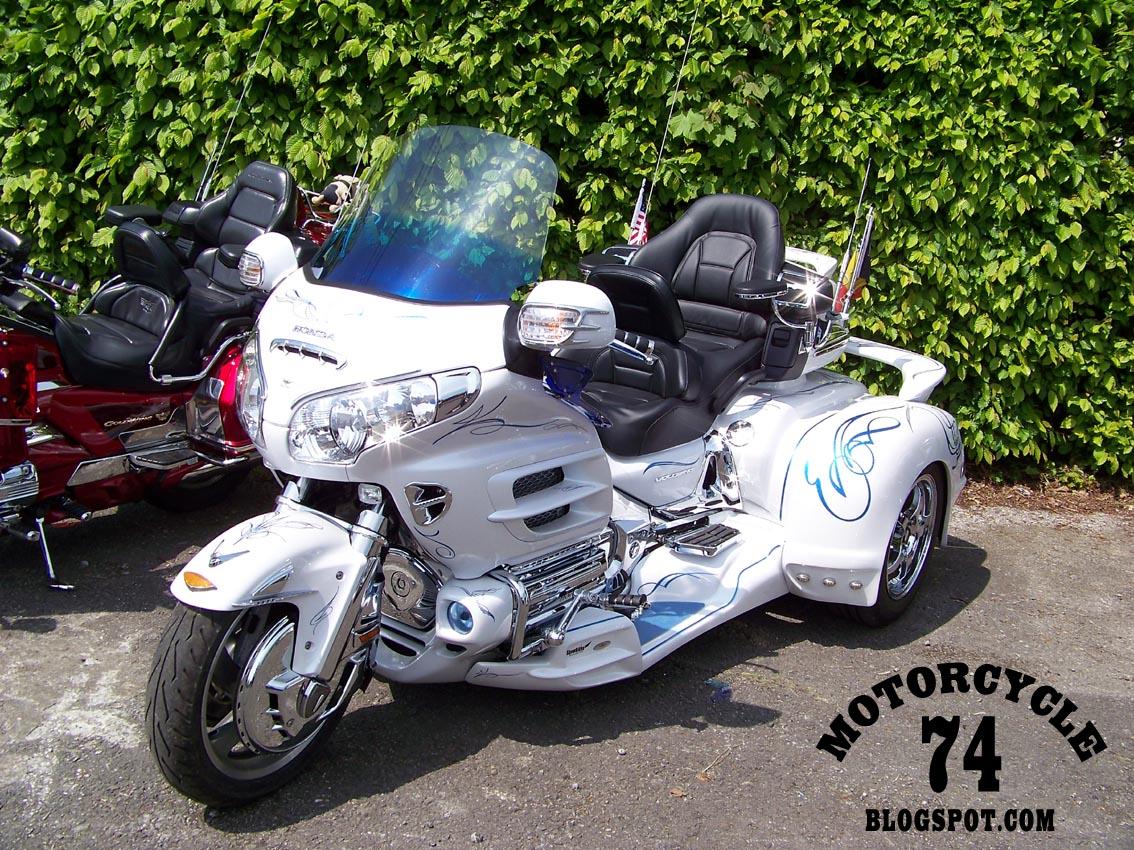motorcycle 74 honda goldwing custom bling trike. Black Bedroom Furniture Sets. Home Design Ideas