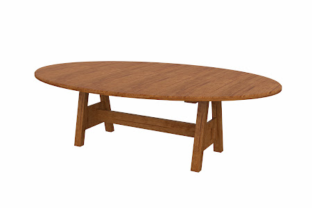 Geneva Conference Table in Como Maple
