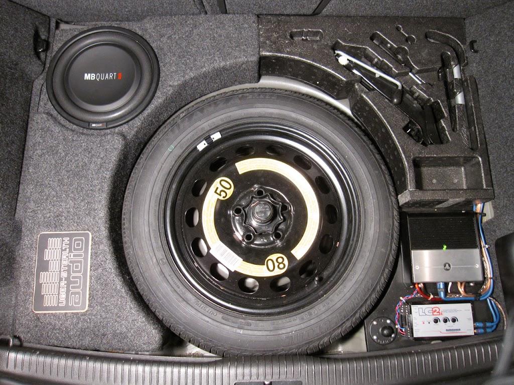Adding Under Seat Subwoofer - Thoughts? - VW GTI MKVI