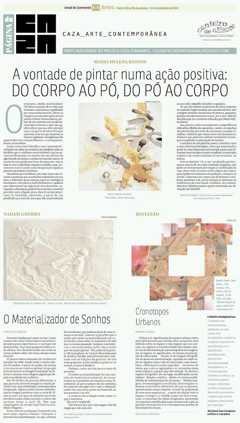 Página da Caza - 07 de Dezembro de 2012