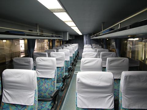 西日本鉄道「島原号」 9719 車内