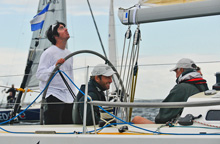 Ben Ainslie sailing J/109 Europeans on Jet/JP Morgan