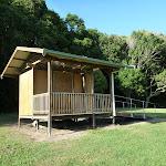 Toilet at main camping area