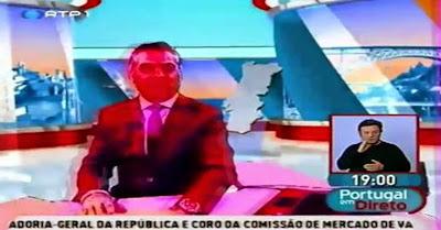Vídeo engraçado reúne apanhados e tesourinhos deprimentes da televisão portuguesa