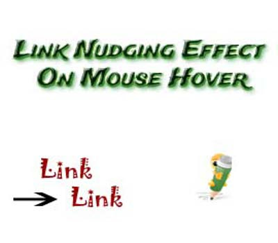 How to Add Link Nudging Effects to Links and Images