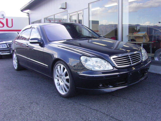 mercedes benz s500l w220 carlsson benztuning. Black Bedroom Furniture Sets. Home Design Ideas