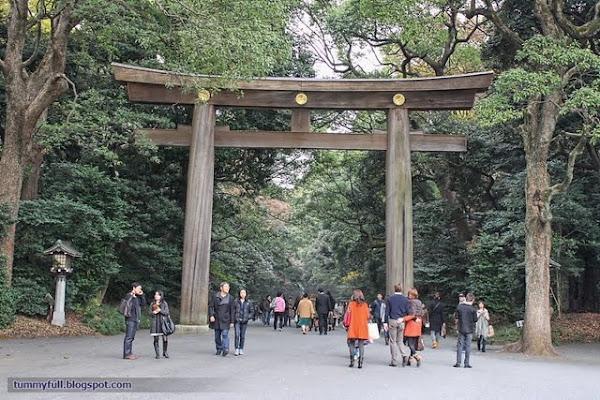 how to go to meiji shrine from shinagawa station