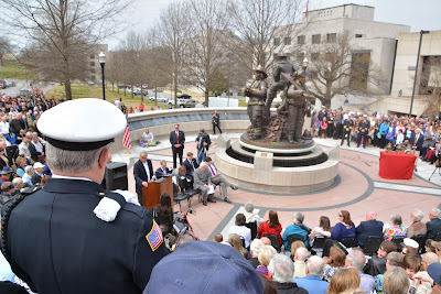 Arkansas Fallen Firefighters Memorial Dedication
