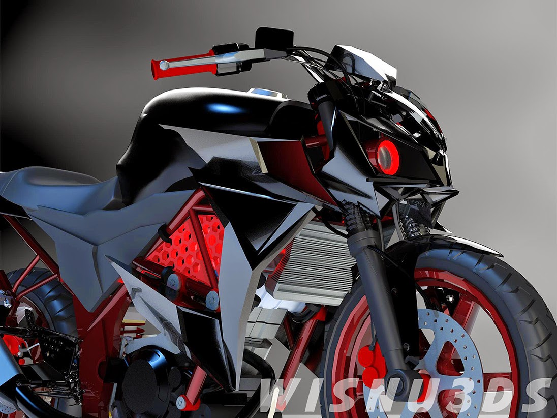 Honda Cb150r Modifikasi Street Fighter