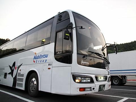 西鉄高速バス「さぬきエクスプレス福岡号」 3802 鴻ノ池パーキングエリアにて その3