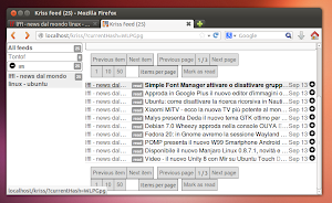 KrISS Feed  Ubuntu Linux
