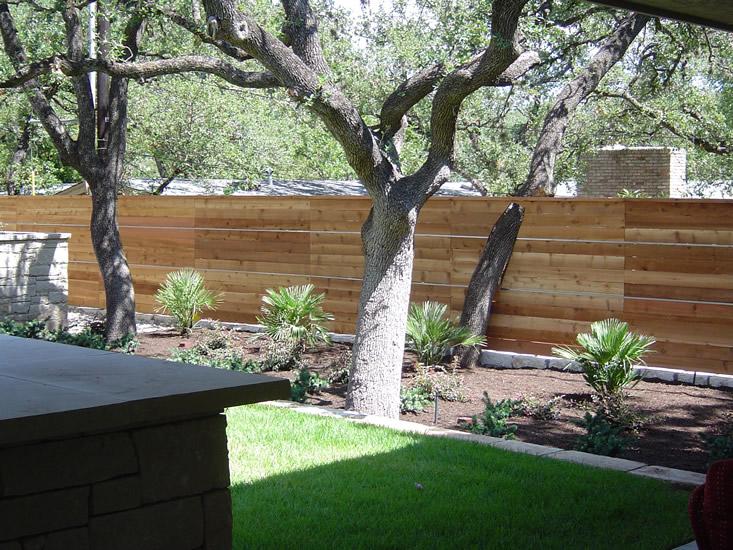 Austin Wood Fence Design