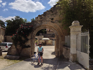 French village diaries cycling charente route 35c