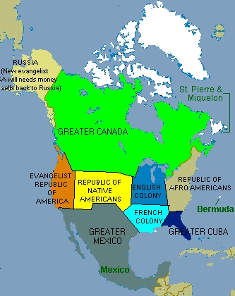 divided states of america in united states of america out here we have 10 regions this map was first published in a conservative turkish newspaper