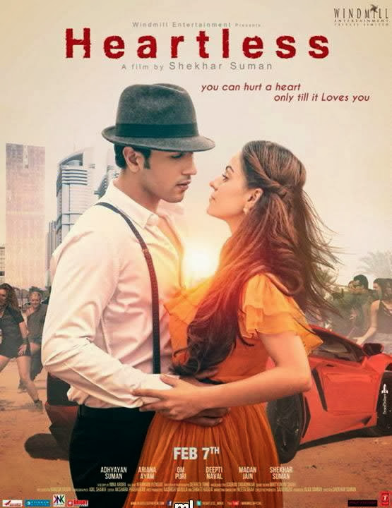 Poster Of Hindi Movie Heartless (2014) Free Download Full New Hindi Movie Watch Online At Alldownloads4u.Com