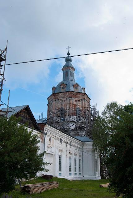 Церковь села Сорвижи