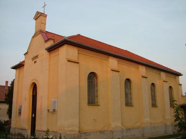 Fotó a szandaszőlősi templomról