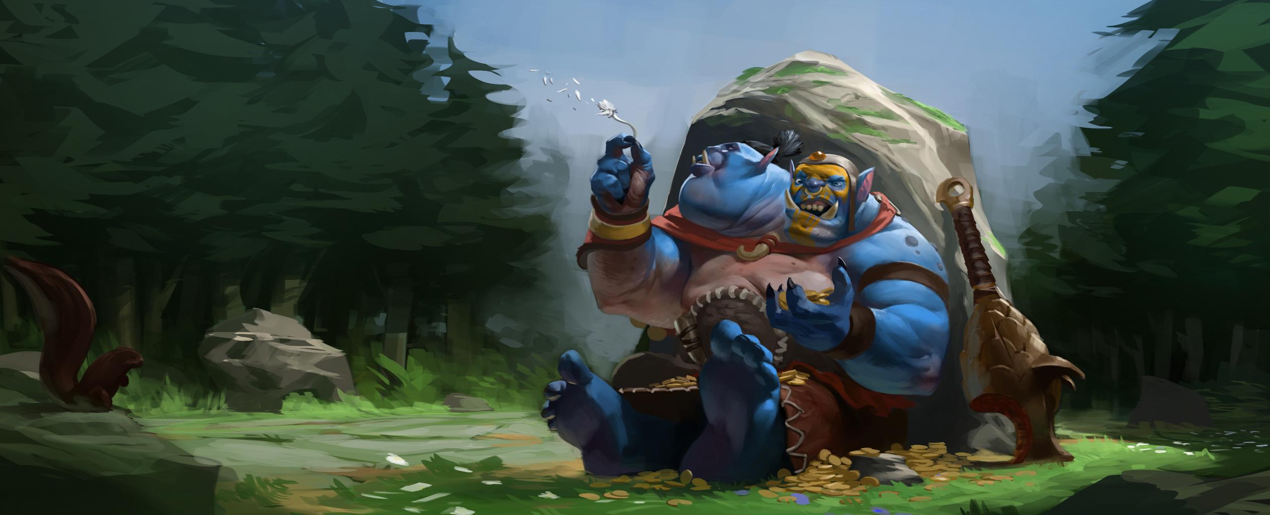 Loạt ảnh nguyên họa của các hero trong DotA 2 - Ảnh 20
