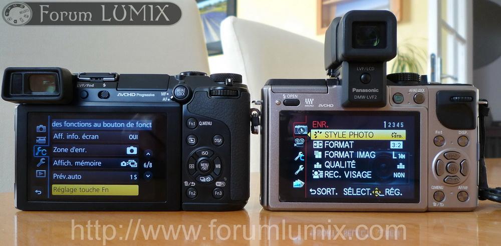 Prise en main du Panasonic Lumix GX7 P1010856