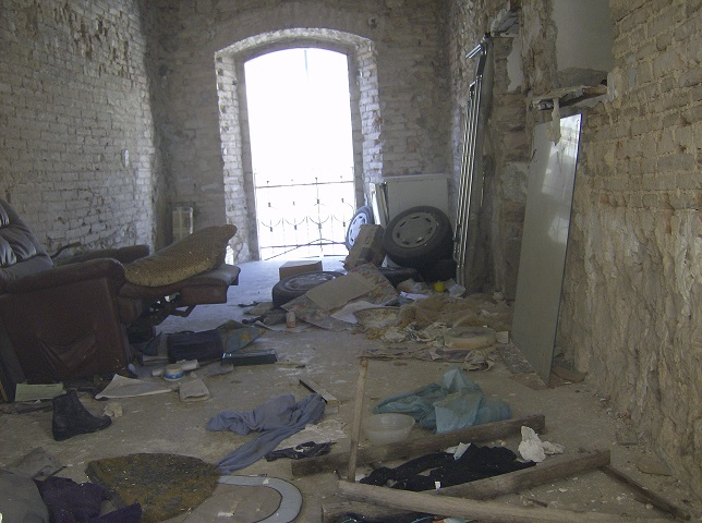 Sant'Eraclio: Interno della Casa Castellana