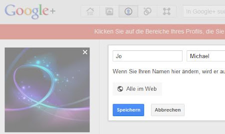Google+ - Edit name
