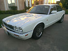 Clean Dependable Low mile 1997 White and Beige Jaguar XJ6 4.0 Four Door Sedan