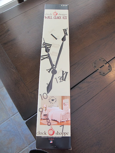 Painted Wall Clock (It works too!)