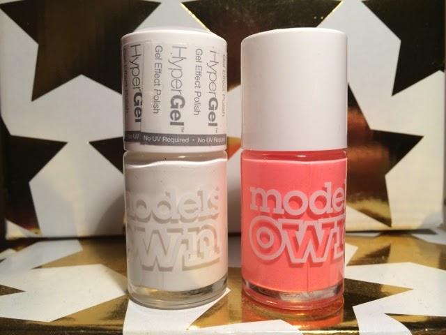 Easy-neon-nail-art-Models-Own-Polish-For-Tans-Beach-Bag-White-Light-Hyper-Gel