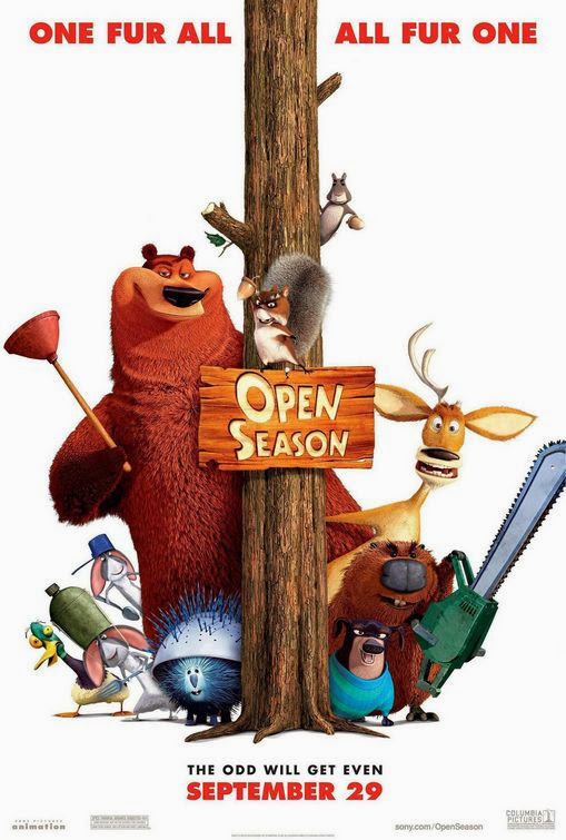 Poster Of Open Season (2006) Full Movie Hindi Dubbed Free Download Watch Online At alldownloads4u.com