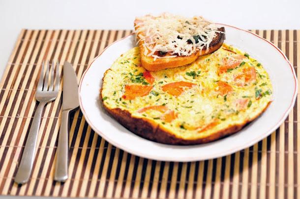 Razvan Anton bruschete omleta