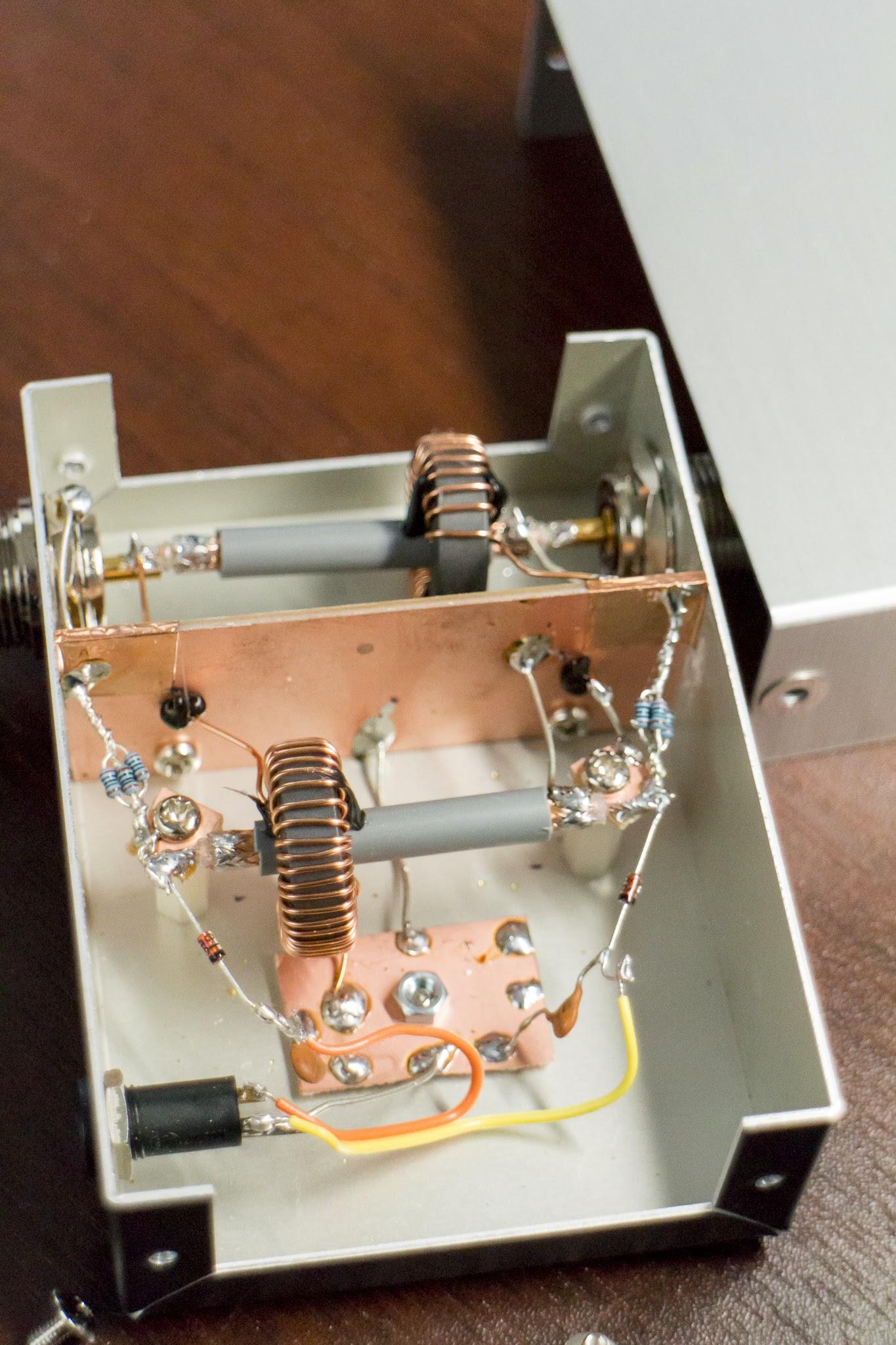 自作デジタル SWR 計 (進行波・反射波電力計)   ham   tech - 氾濫原
