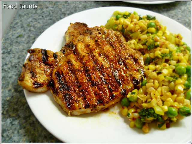 Southwest Chili Rubbed Pork Chops
