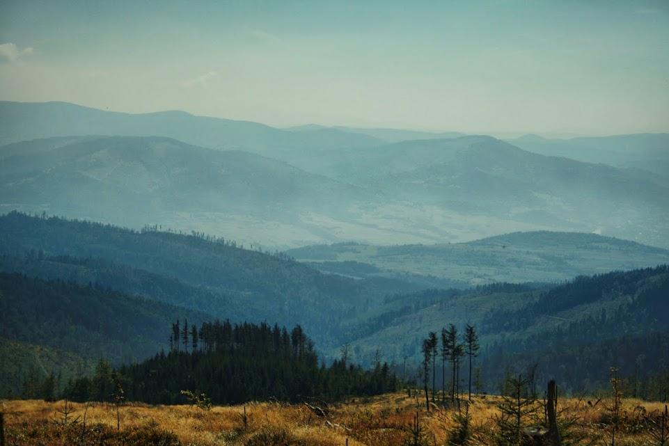 Widok z Magurki Wiślańskiej