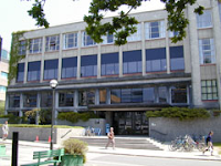 Photograph of the Leonard S. Klinck Building at UBC