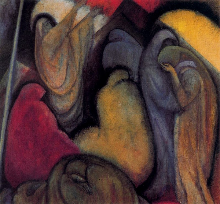Albert Bloch - Lamentation.