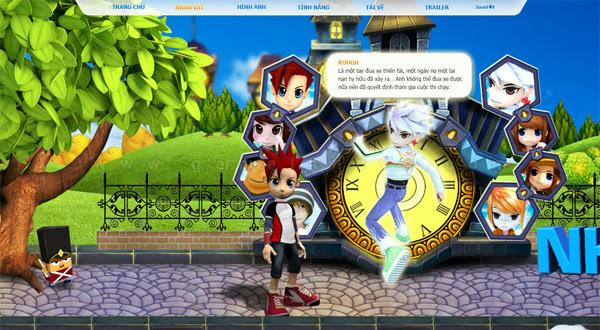 Trang giới thiệu GoGoRun đã chính thức trình làng 6