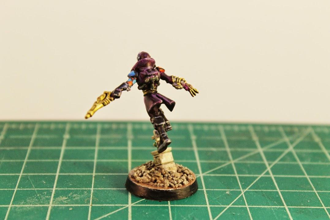 Harlequin Troupe Master, back