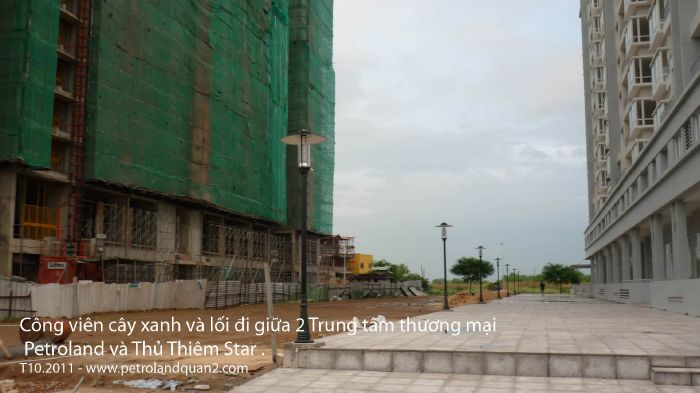 Bán mặt bằng kinh doanh TTTM Căn hộ Petroland Quận 2