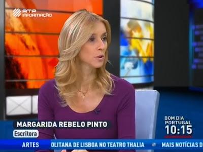 Bruno Nogueira mete Margarida Rebelo Pinto completamente na MERDA