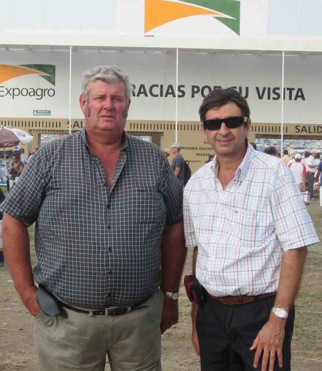 POLITICA: SENADORES  DEL GEN,  ANTEDOMENICO Y MOLINI EN EXPOAGRO 2011