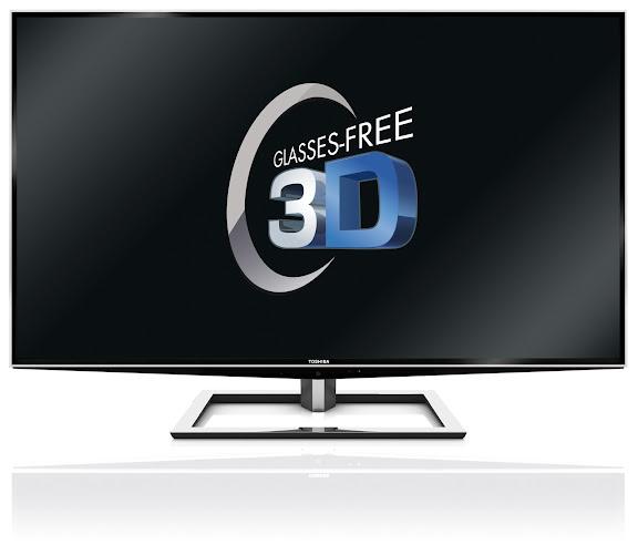 Toshiba presenta el primer televisor de gran formato 3D sin gafas