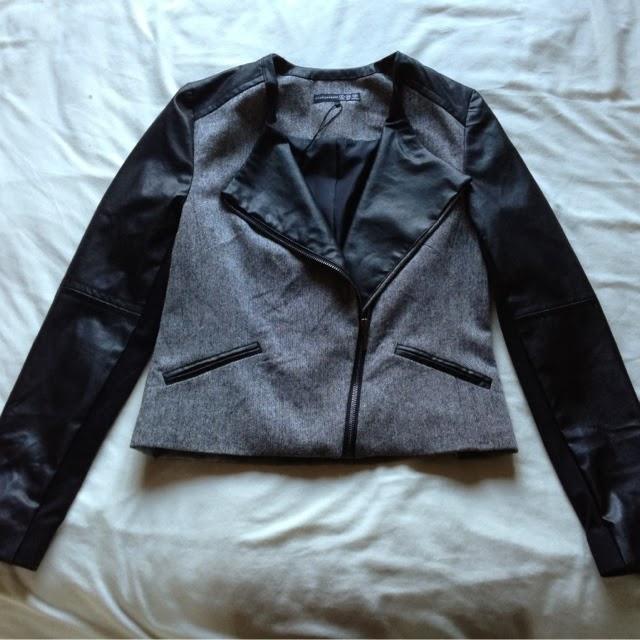 Sammi Jackson - Primark Haul / Grey Biker Jacket