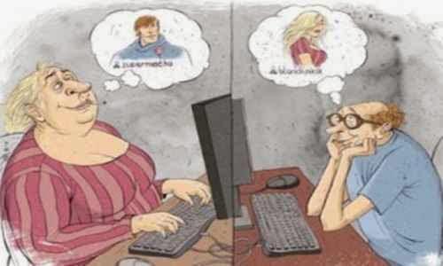 Mentiras habituales que se ven en la citas por internet