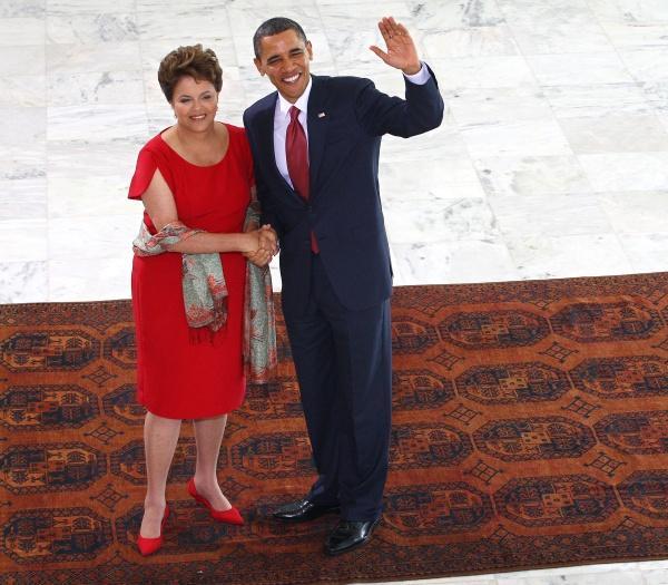 Barack Obama e Dilma Roussef